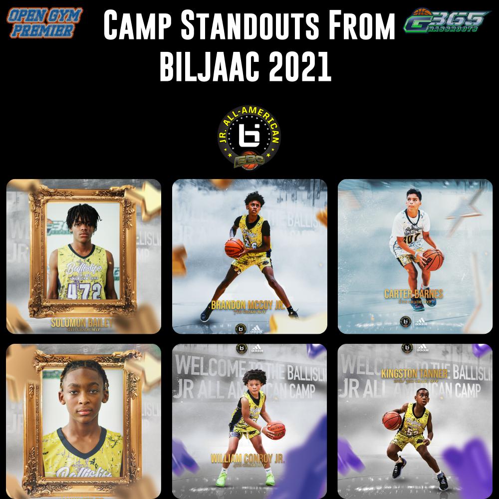 Camp Standouts from BILJAAC 2021